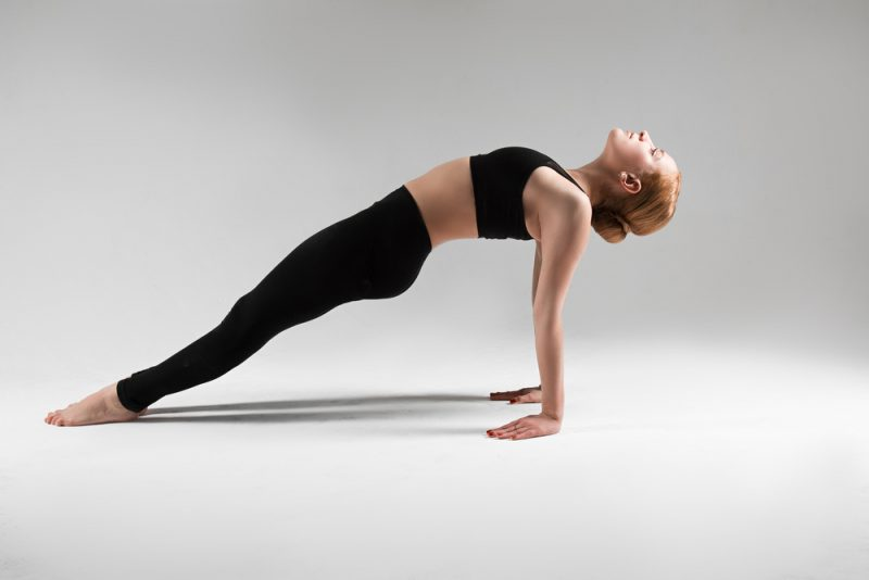 Shifting Forward To Plank Pose