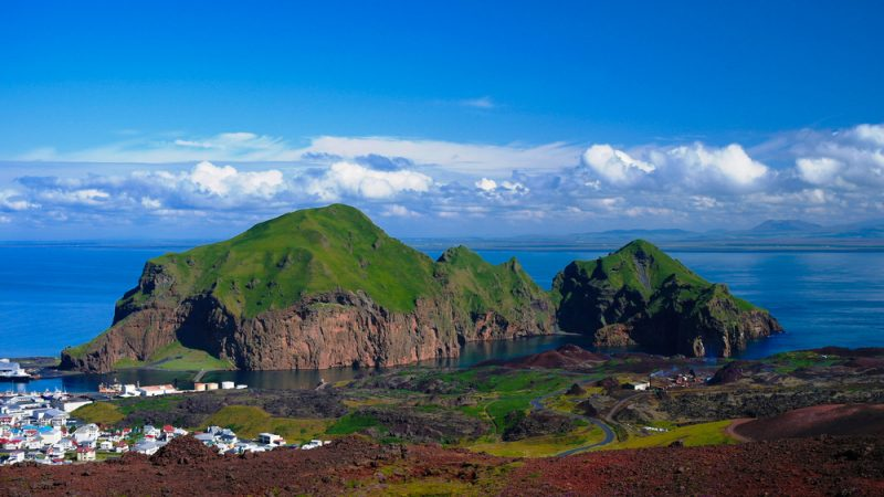 The Westman Islands, Iceland