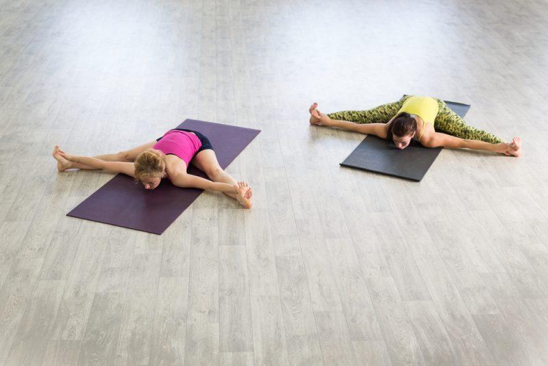 Upavistha Konasana — Wide-Angle Seated Forward Bend Pose
