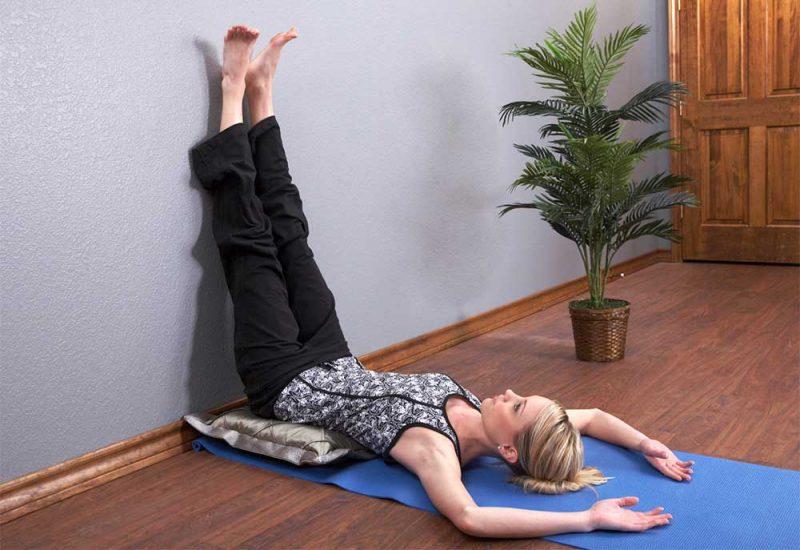 Viparita Karani — Legs Up The Wall Pose. Credits www.drweil.com