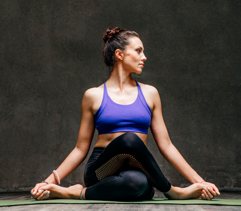 A 15-minute Yoga Sequence for Stress-Relief