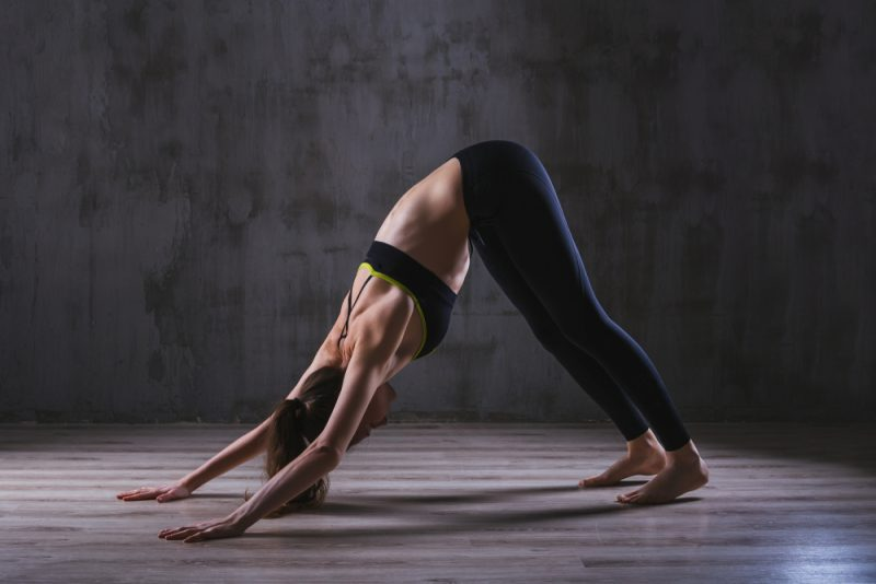 Adho Mukha Svanasana — Downward Facing Dog Pose (Vinyasa)