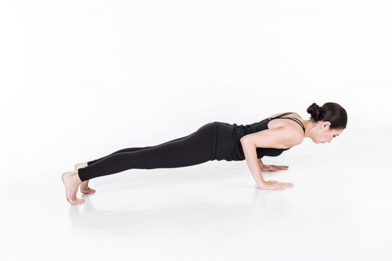 Chaturanga Dandasana — Chaturanga Pose