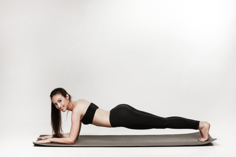 Chaturunga Dandasana – Low Plank Pose