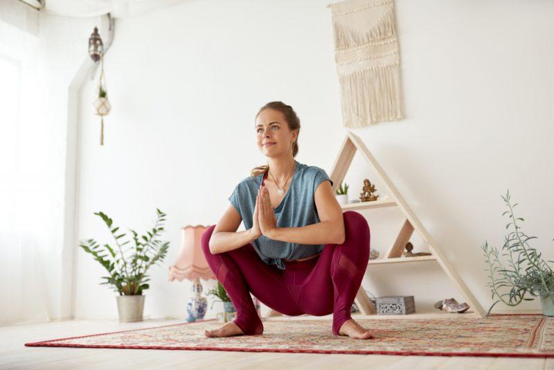 Malasana — Garland Pose aka Full Yogic Squat Pose