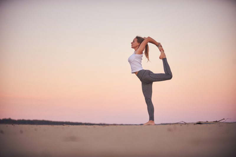 Natarajasana — Dancer Pose