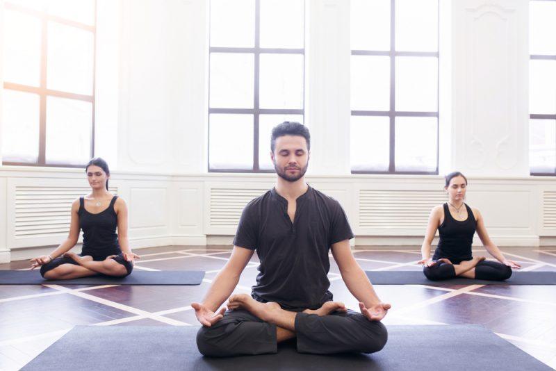 Padmasana — Lotus and Half Lotus Pose