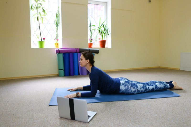 Salamba Bhujangasana — Sphinx or Seal Pose