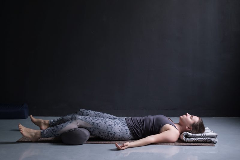 Savasana — Supported Corpse Pose