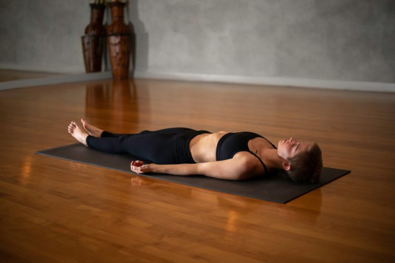 Seated Forward Fold, Reclined Spinal Twist, & Savasana