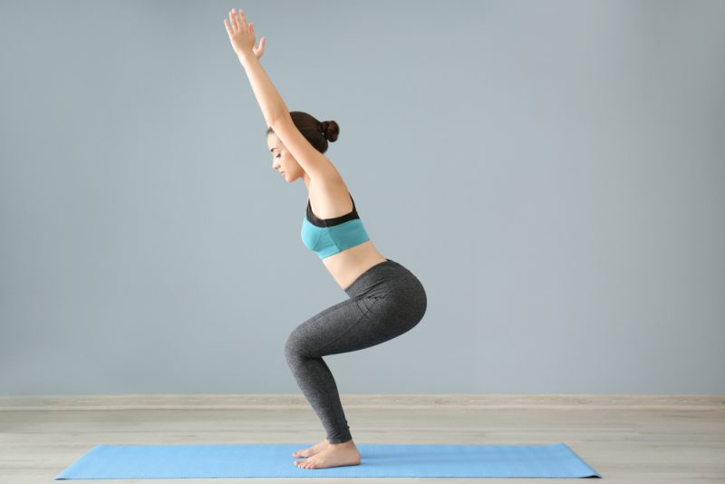Utkatasana Pose — Chair Pose