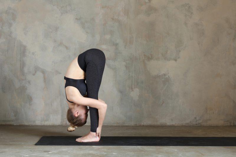 Uttanasana— Standing Forward Fold Pose