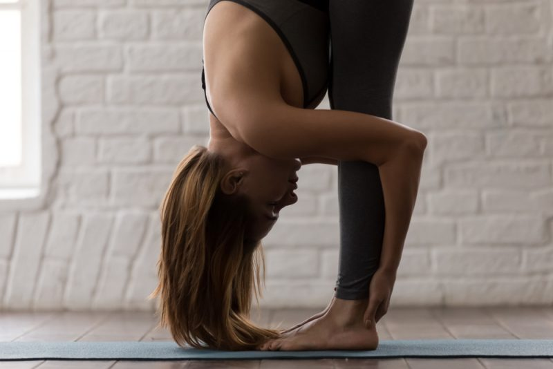 Uttanasana — Standing Forward Bend Pose
