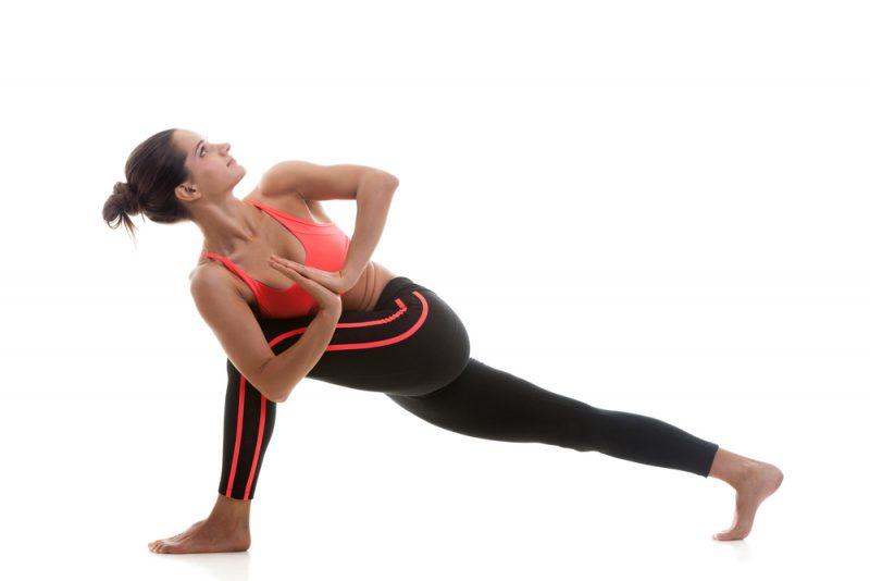 Utthita Parsvakonasana — Revolved Side-Angle Pose2 minutes