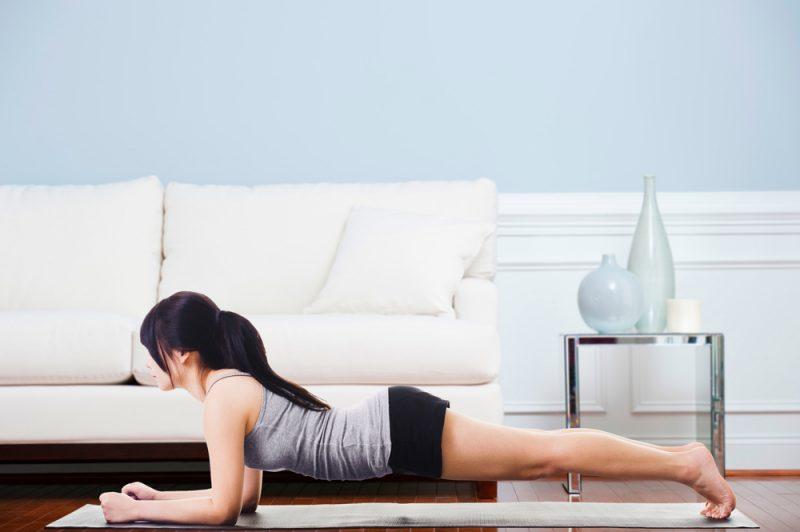 Variation 1 Elbow Plank