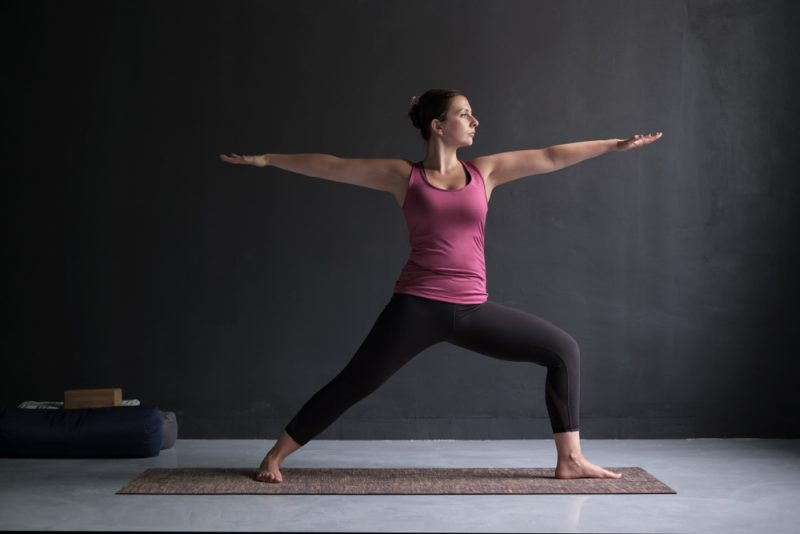Virabhadrasana II — Warrior 2 Pose