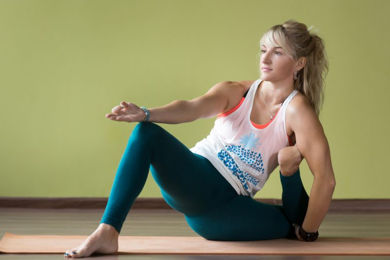 Yogadandasana —Yogi Staff Pose