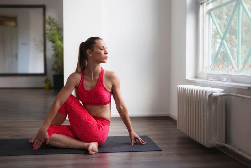 Ardha Matsyendrasana — Spinal Twist Pose