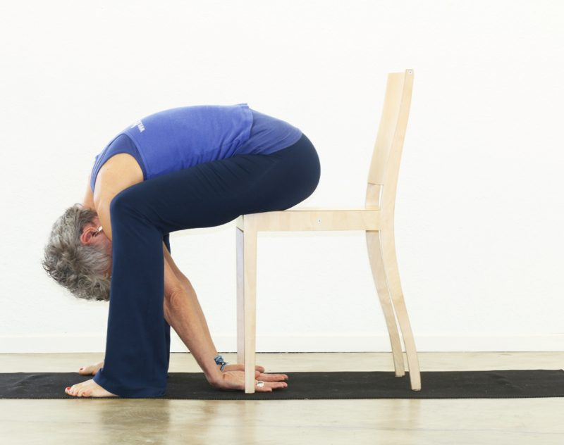 Ardha Uttanasana —Forward Fold Pose