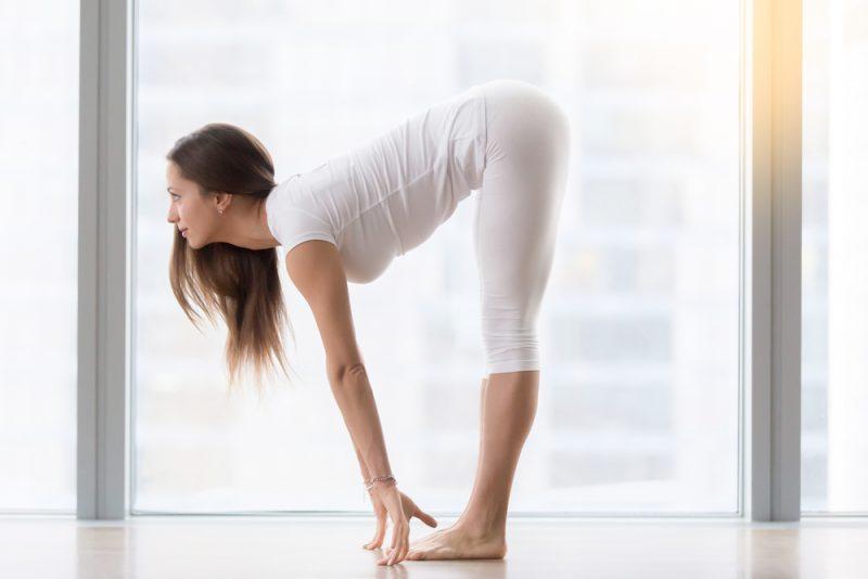 Ardha Uttanasana — Half Forward Fold Pose