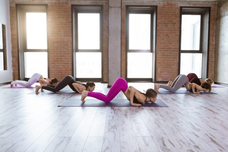 Ashtanga Namaskara — Knees-Chin-Chest Pose