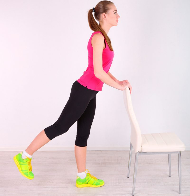 Calf Stretch Pose