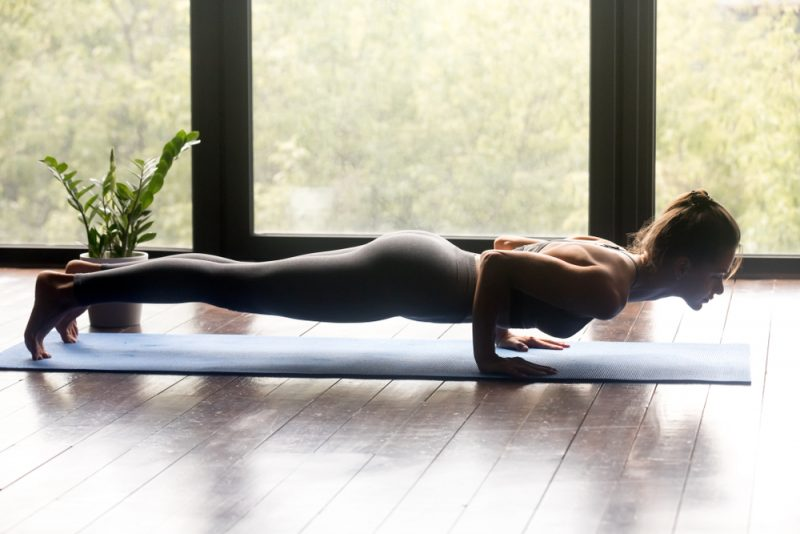 Chaturanga Dandasana — Low Plank Pose
