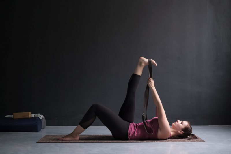 Hamstring Stretch Pose