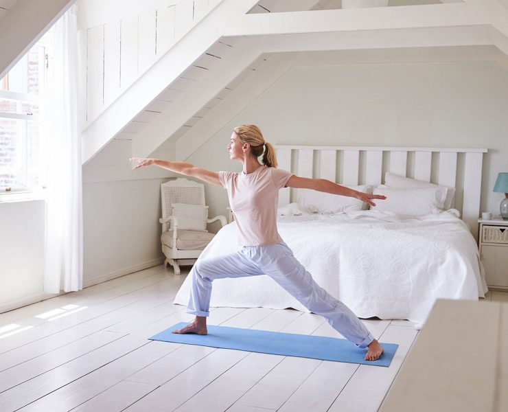 Morning Yoga Practice to Reconnect