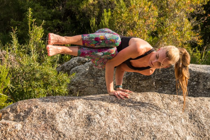 Parsva Bakasana  — Side Crow Pose