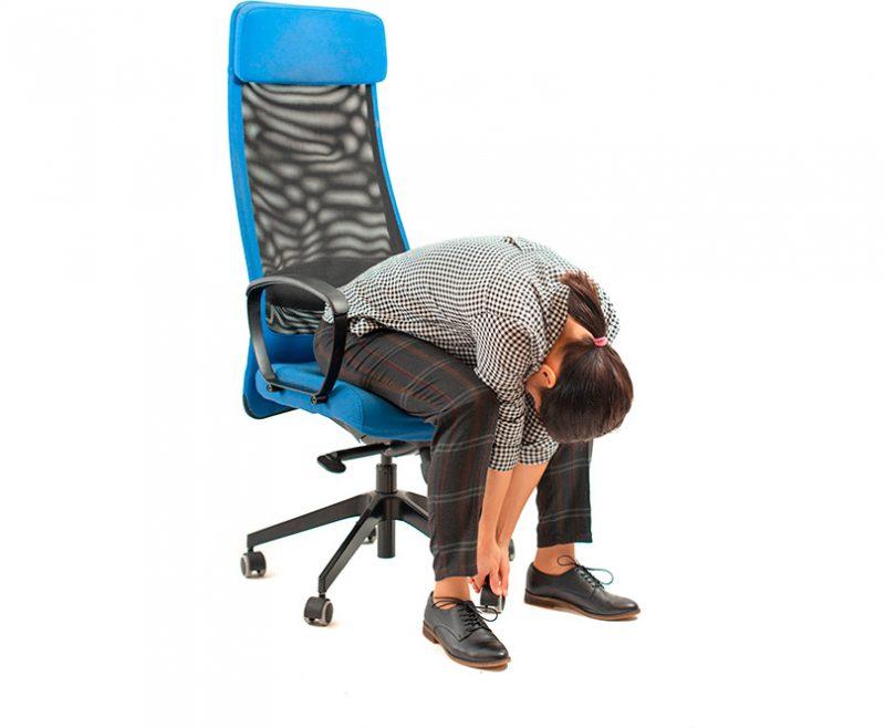 Seated Forward Fold Pose