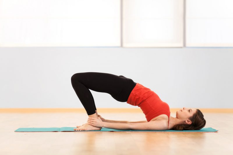 Setu Bandha Sarvangasana — Bridge Pose
