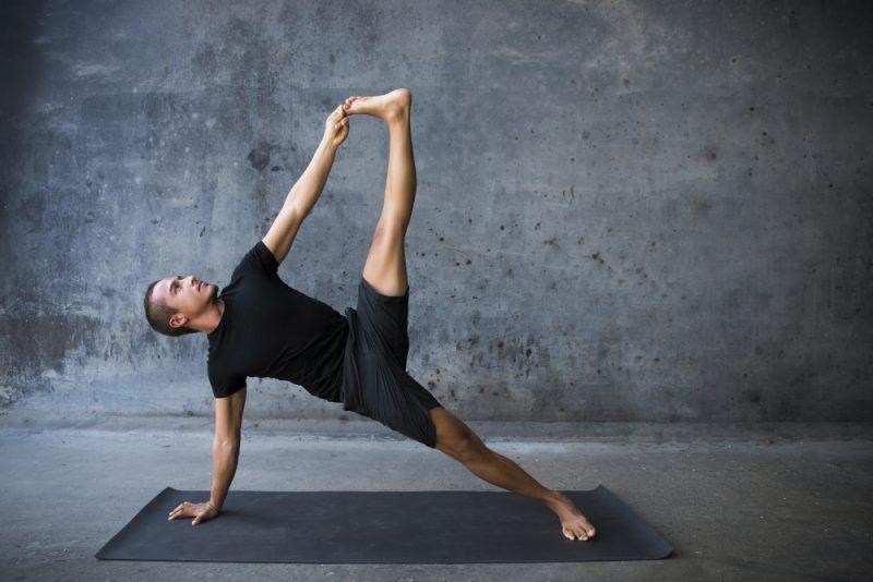 Side Plank — Vashistasana Pose