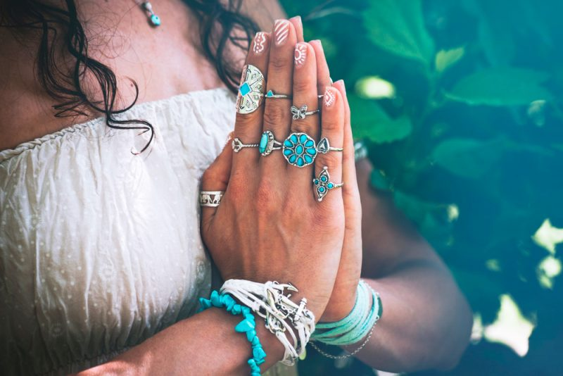 The Namaste Gesture