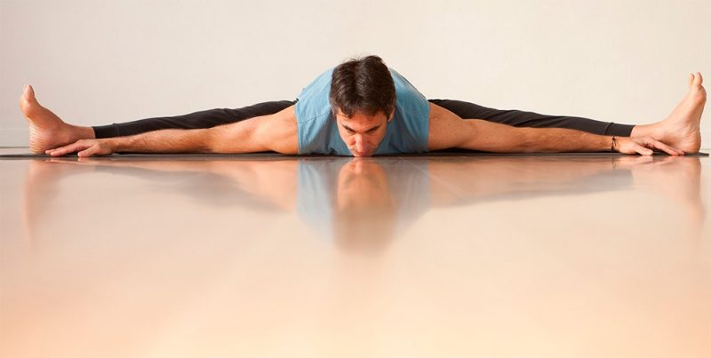 Upavishta Konasana — Seated Wide-legged Forward Fold Pose