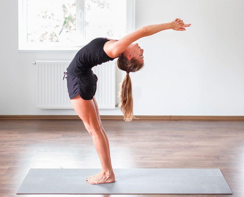 Urdhva Hastasana — Upward Salute Pose