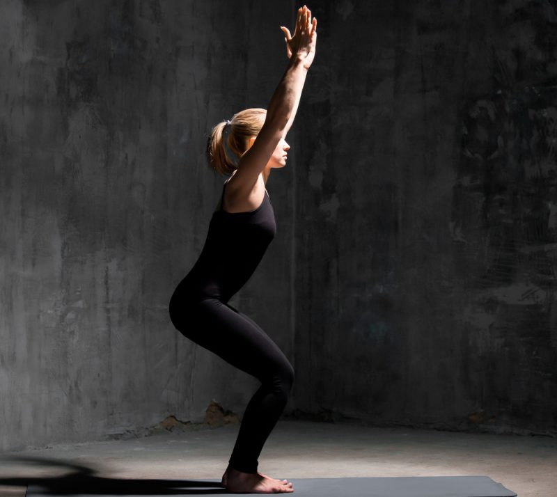 Utkatasana — Chair Pose