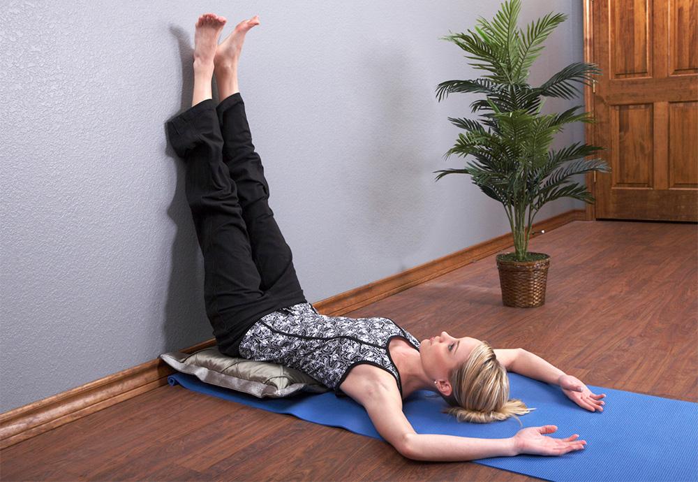 Viparita Karani —Legs-Up-the-Wall Pose