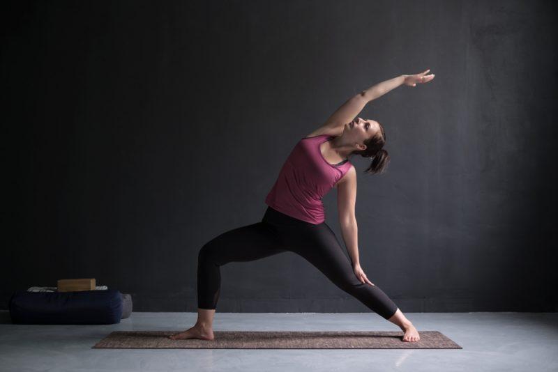Viparita Virabhadrasana — Reverse Warrior Pose