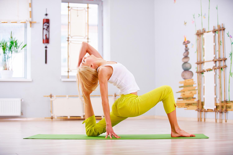 О йоге как о способе похудеть