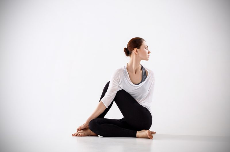Ardha Matsyendrasana — Half Lord of the Fishes Pose