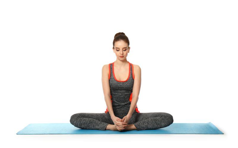 Baddha Konasana —Bound Angle Pose