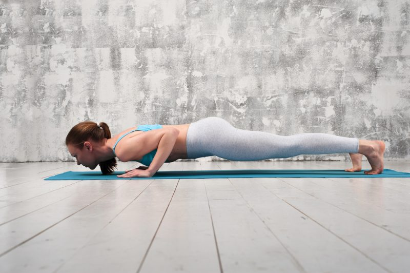 Benefits of Chaturanga Dandasana