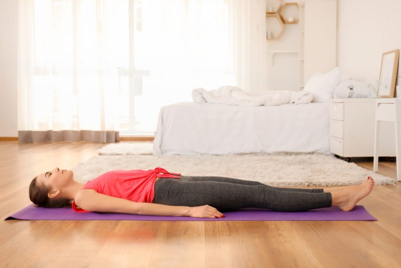Connecting With Shavasana