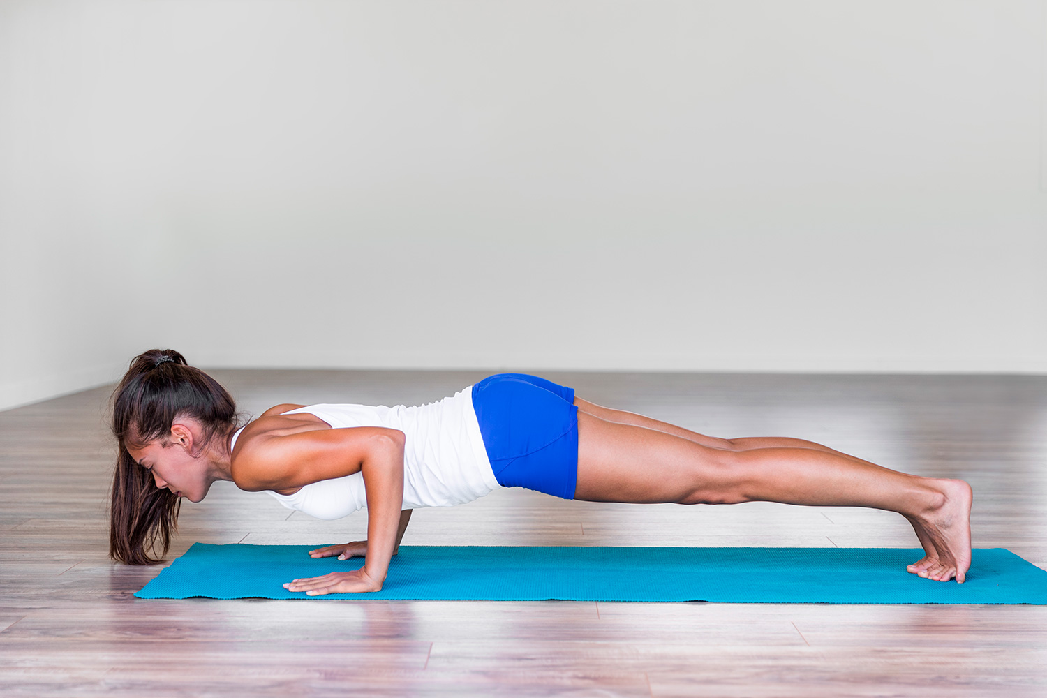 How to Do Low Plank (Chaturanga Dandasana) in Yoga
