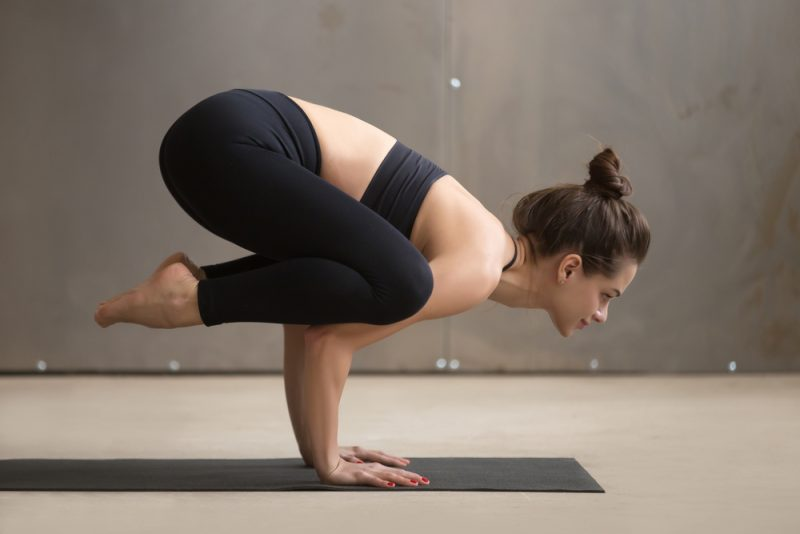 How to Practice Crow Pose