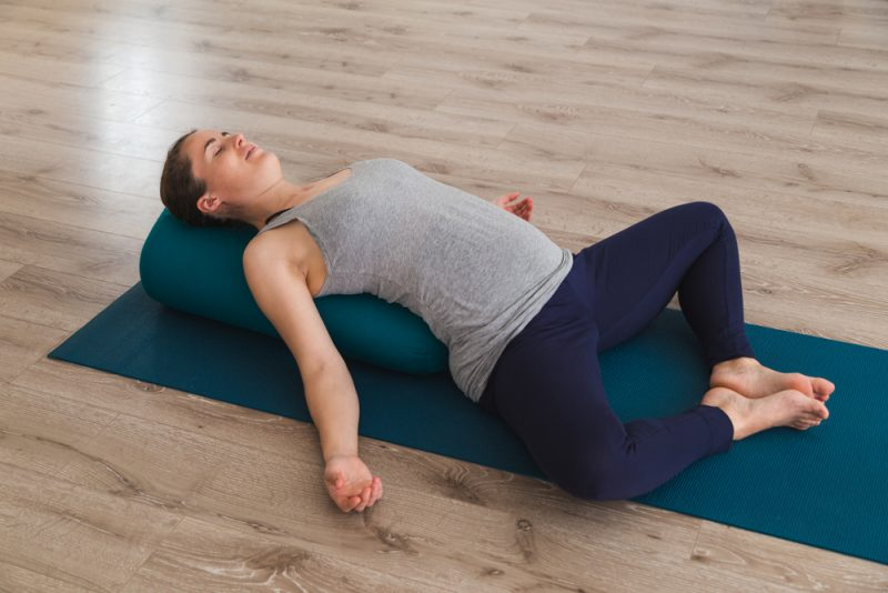 Matsyasana — Supported Fish Pose