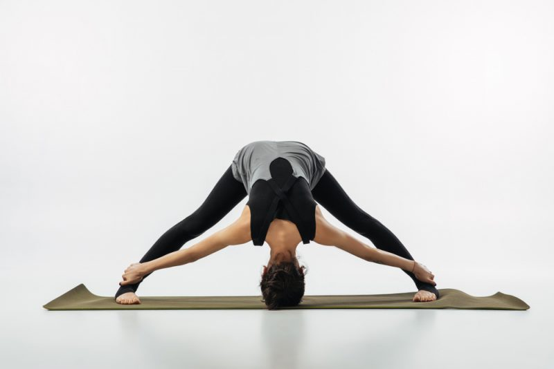 Prasarita Padottanasana — Wide-Legged Forward Bend Pose