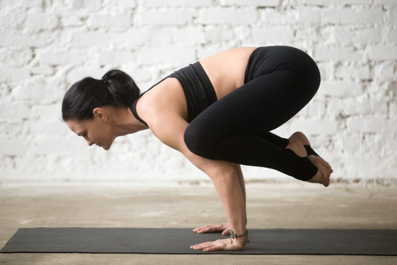 Spiritual Empowerment of Crow Pose