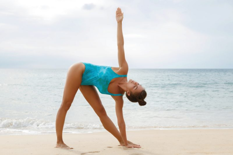 Trikonasana — Triangle Pose